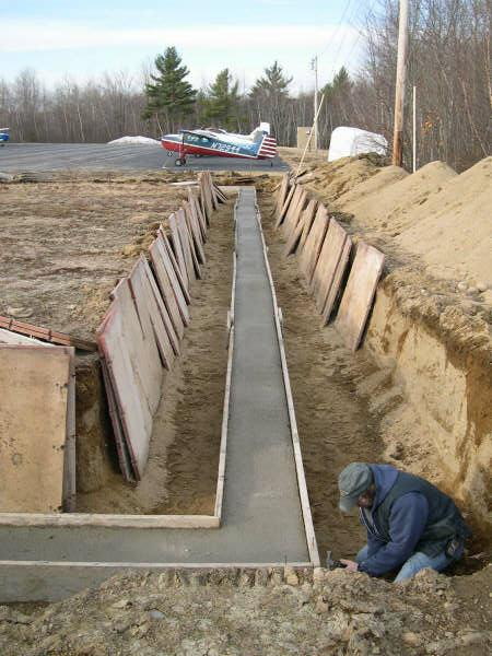 Ready Made Footings : Concrete pier footings car interior design